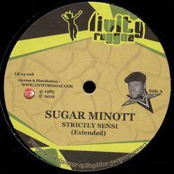 """Sugar Minott / Trevor Junior - Strictly Sensi / Chaplin - 12"""""""