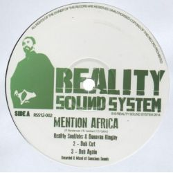 """Reality Souljahs / Donovan King Jay - Mention Africa - 12"""""""