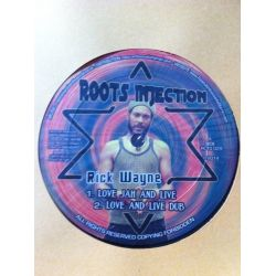 Rick Wayne - Love Jah And Live - 10""
