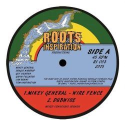 Mikey General - Wire Fence - 12""