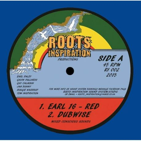 Earl Sixteen - Red - 12""