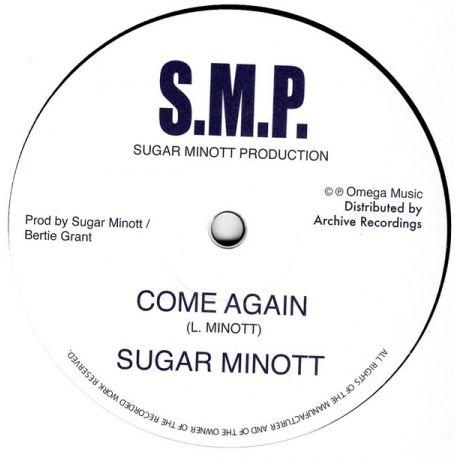 "Sugar Minott - Come Again - 12"""