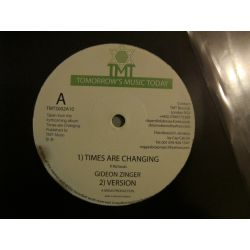 Gideon Zinger - Times Are Changing - 10""