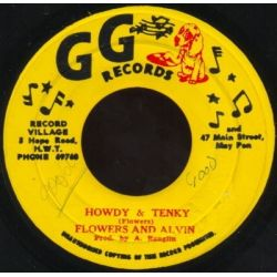 Flowers & Alvin - Howdy & Tenky Version - 7""