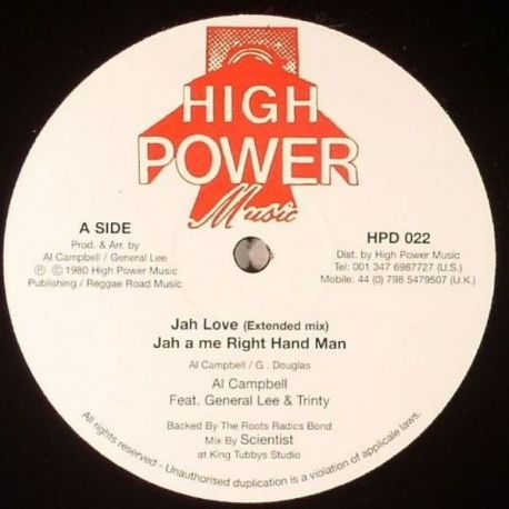 Al Campbell - Jah Love - 12""