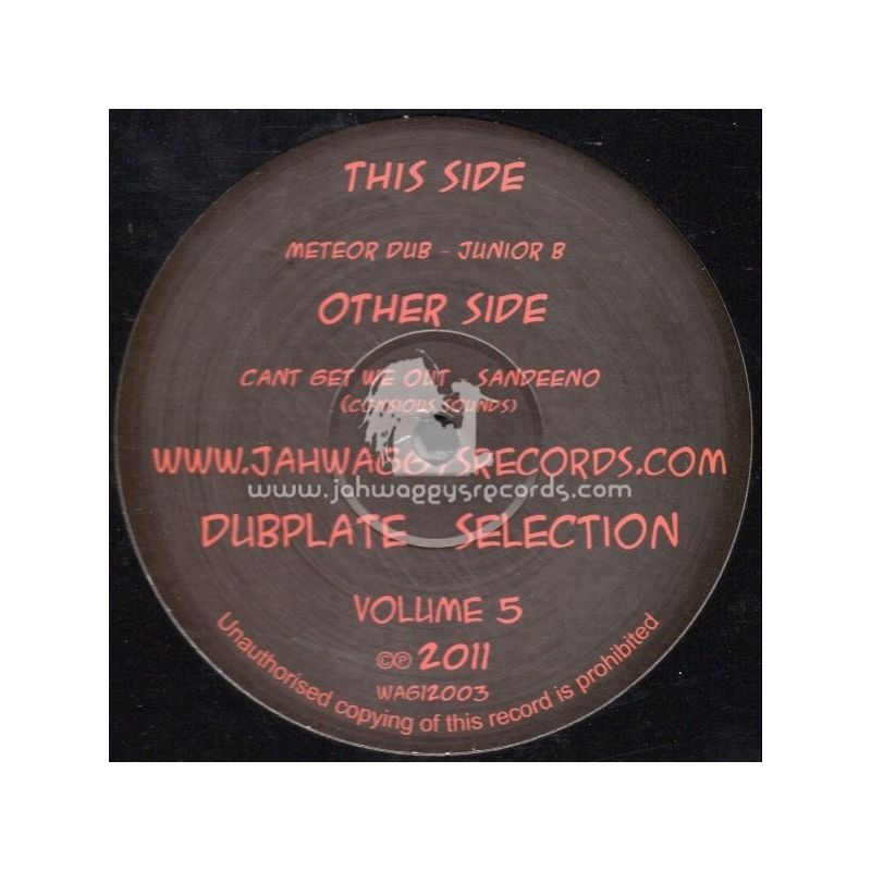Junior B - Cant Get We Out - 12""