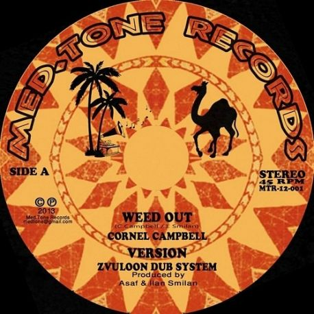 Cornell Campbell / Ranking Joe / Zvuloon Dub System - Weed Out - 12""