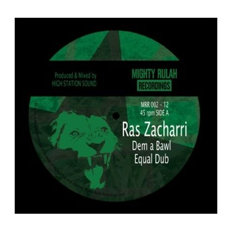 Ras Zacharri / Rankin' Alpha - Dem A Bawl /  Western Youth - 12""