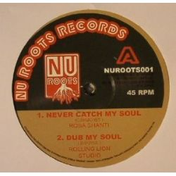 Rosa Shanti - Never Catch My Soul - 12""