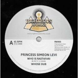 "Princess Simeon Levi / Crucial Steve - Who Is Rastafari - 12"""