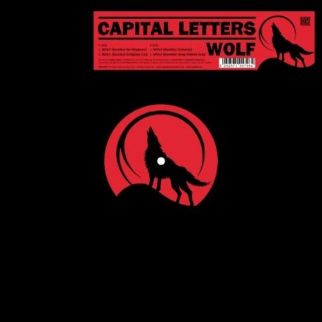 Capital Letters -  Wolf - 12""