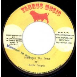 Keith Poppin - Hold Not Thy Peace - 7""