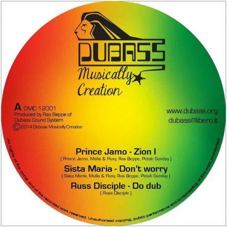 Prince Jamo, Sista Maria, Mafia & Fluxy, ... Russ D – Zion I  - 12''