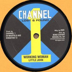 Barry Brown / Little John - Got To Be Sure / Working Woman - 10""
