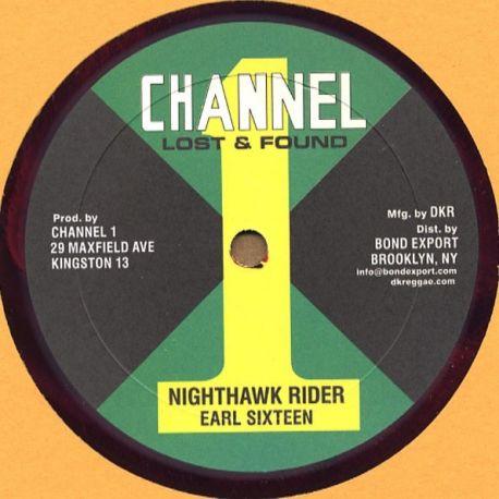 "Earl Sixteen - Nighthawk Rider / Music Machine - 10"""
