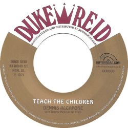 Dennis Alcapone / Tommy McCook Allstars - Teach The Children / Wake Up Jamaica - 7""