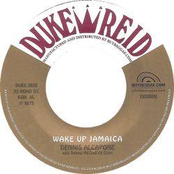 """Dennis Alcapone / Tommy McCook Allstars - Teach The Children / Wake Up Jamaica - 7"""""""