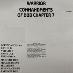 Jah Shaka - Warrior (Commandments Of Dub Chapter 7) - LP