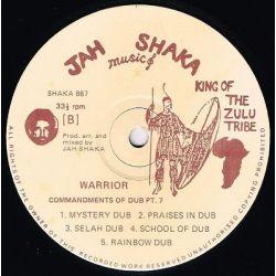 Jah Shaka - Warrior (Commandments Of Dub Chapter 7) - LP