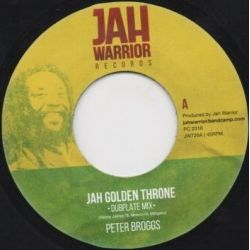 Peter Broggs -  Jah Golden Throne (Dubplate Mix)  - 7""