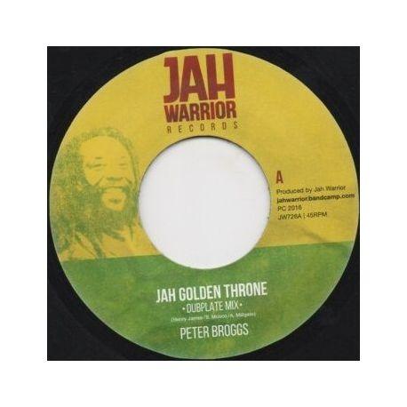 """Peter Broggs -  Jah Golden Throne (Dubplate Mix)  - 7"""""""