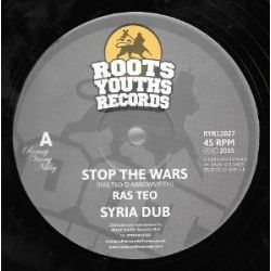Ras Teo - Stop The Wars  - 12""
