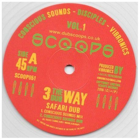 "Conscious Sounds / The Disciples  / Vibronics - Safari Dub - 10"""
