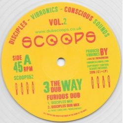 "The Disciples  / Vibronics / Conscious Sounds - Furious Dub - 10"""