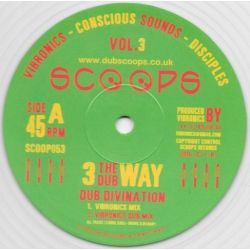 Vibronics / Conscious Sounds / The Disciples  - Divination  - 10""