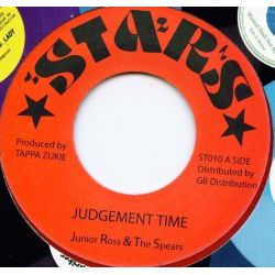 """Junior Ross & The Spears - Judgement Time - 7"""""""