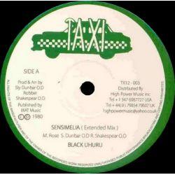 """Black Uhuru - Sensimelia (Extended Mix) - 12"""""""