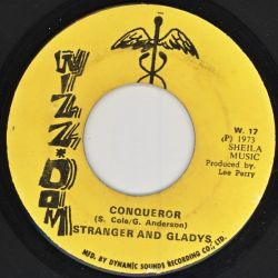 "Stranger & Gladdy - Conqueror - 7"""