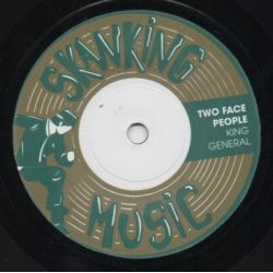 King General - Two Face People - 7""
