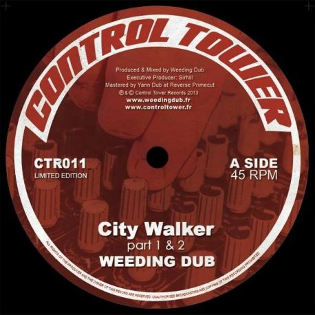 Weeding Dub ‎– City Walker / Chido La Banda   - 12''
