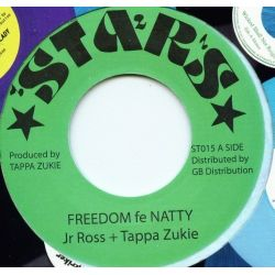 Junior Ross / Tapper Zukie - Freedom Fe Natty - 7""