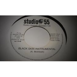 K. Mcintosh - Black Skin Instrumental - 7""