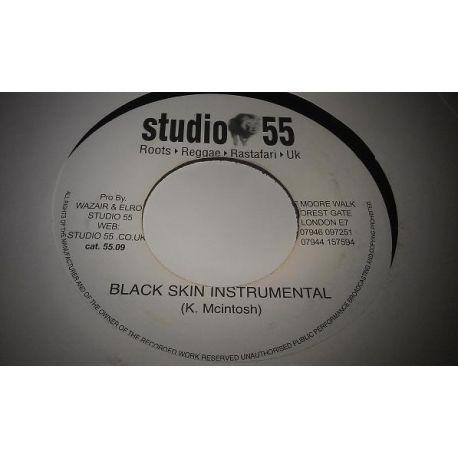 "K. Mcintosh - Black Skin Instrumental - 7"""