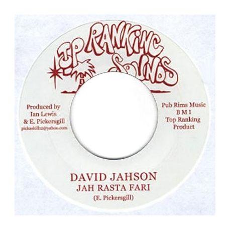 "David Jahson - Jah Rasta Fari / Tafari Dub - 7"""