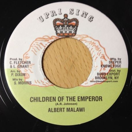 Albert Malawi - Children Of The Emperor - 7""