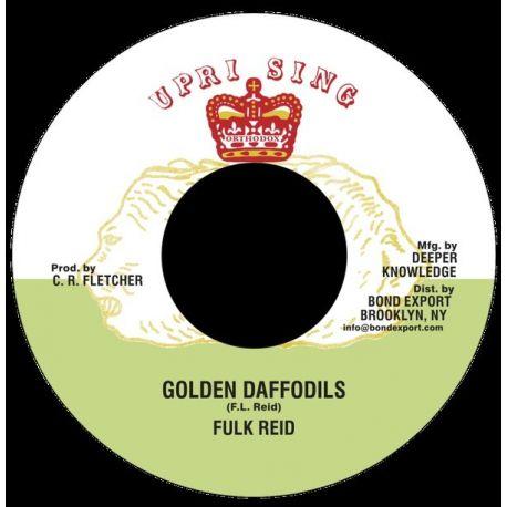 """Fulk Livingston Reid - Golden Daffodils - 7"""""""