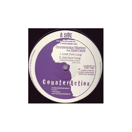 """Counteraction / Izyah Davis / Jah Mystic - Look How Long / Stand Up And Praise H.I.M. - 10"""""""