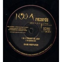 Iwarriyah / King Alpha - I & I Trust In Jah - 10""
