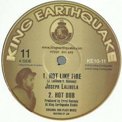 "Joseph Lalibela - Hot Like Fire / See Dem A Come - 10"""