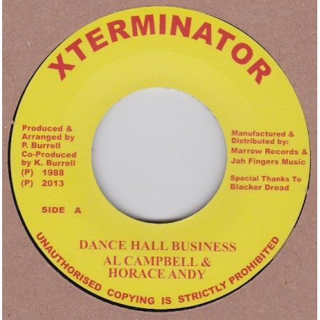 Al Campbell / Horace Andy - Dance Hall Business - 7""