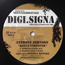 """Anthony Johnson - Rasta Takeover - 12"""""""