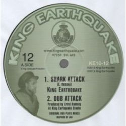 King Earthquake - Shark Attack / Torture The Devil - 10""