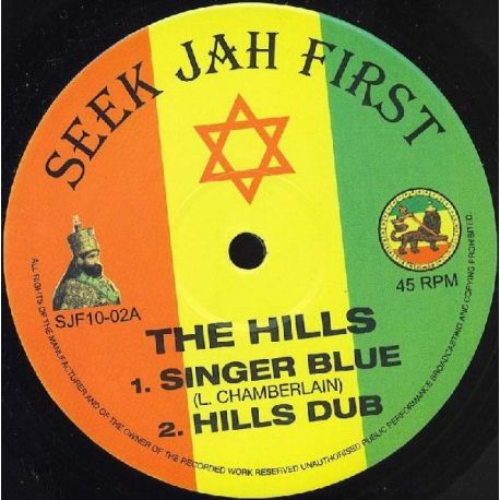 Singer Blue - The Hills - 10""