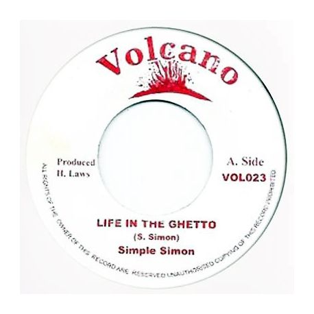 Simple Simon - Life In The Ghetto - 7""