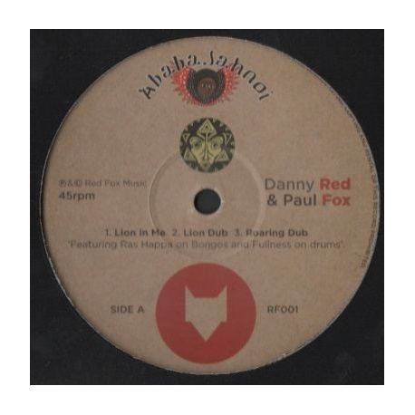 Danny Red / Paul Fox  - Lion In Me / Still Chanting - 12""