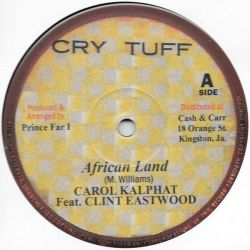 """Carol Kalphat / Clint Eastwood / Doctor Pablo /  - African Land / African Melody - 12"""""""